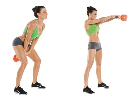 kettlebell swing swings exercise workout exercises fat belly benefits kettlebells moves cardio weight american health squat lose butt female basics