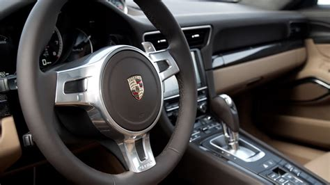 porsche  turbo  interior youtube
