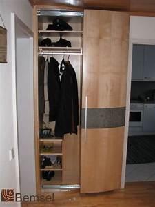 Produkte Garderoben Schreinerei Bemsel