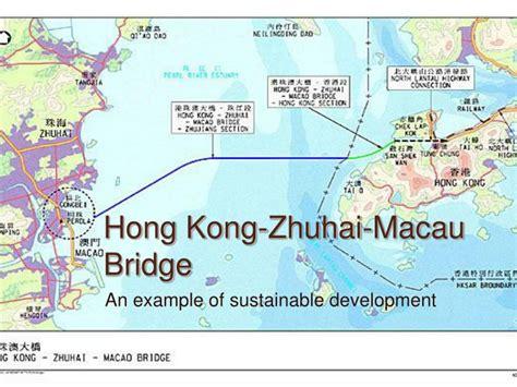 hong kong zhuhai macau bridge powerpoint