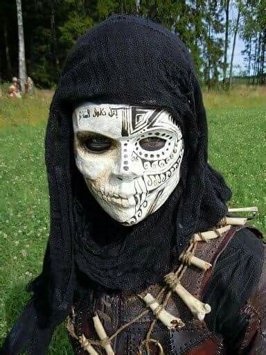 assassin cool masks creepy masks masks art