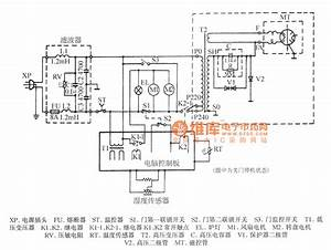Panasonic Nn-6270 Microwave Circuit Diagram