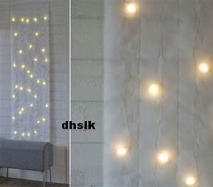 Ikea Led Panel : ikea kallt wall decoration 40 bulbs white xmas fabric led ~ A.2002-acura-tl-radio.info Haus und Dekorationen