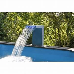 lame d39eau straight ubbink cascade pour piscine 316l haut With cascade d eau piscine