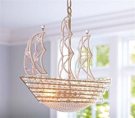 crystal ship hanging light crystal ship hanging light pottery barn kids
