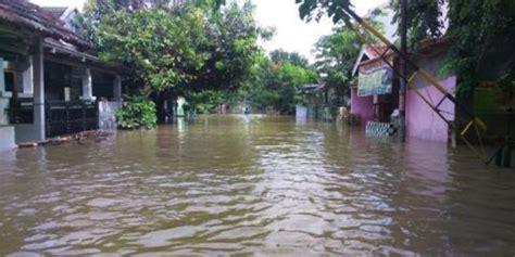 Sungai Citarum Meluap, Dua Perumahan Di Karawang Terendam