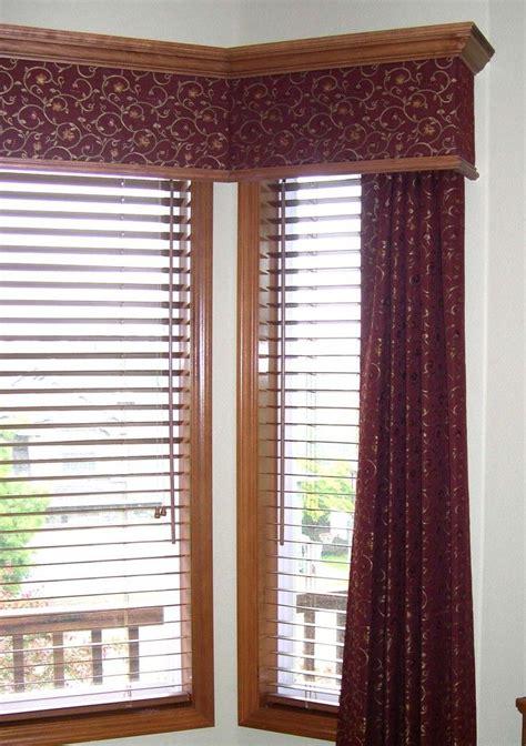 Fabric Window Treatments by Wood Valances Window Treatments Fabric Insert Wood