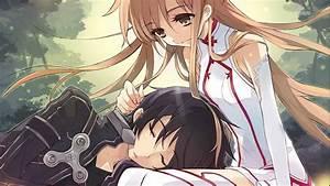 Kirito and Asuna - Sword Art Online wallpaper - 1225762