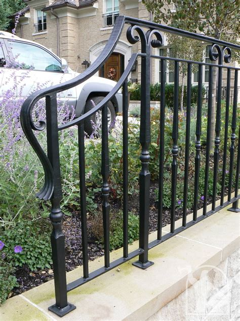 home fences and gates wrought iron exterior railings photo gallery iron master