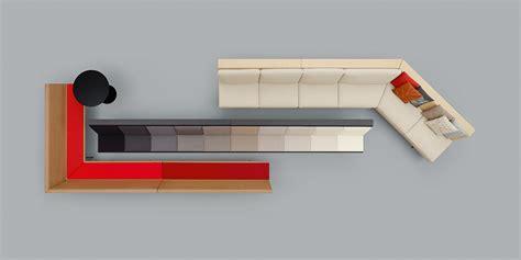 canapé sketchup collection zinta ameublement design arper