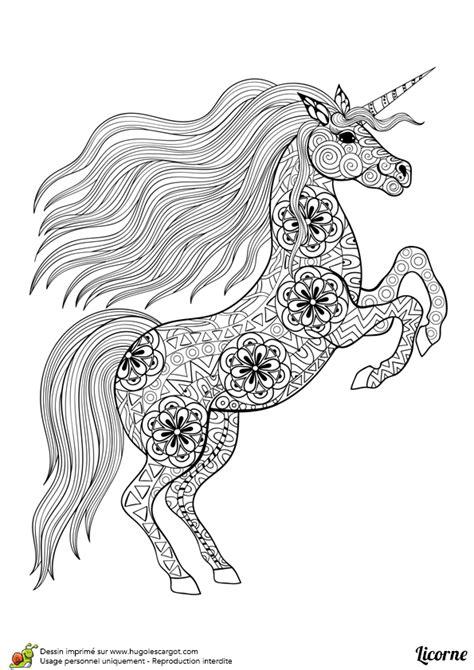 livre cuisine pdf gratuit dessin à colorier d un mandala de licorne debout hugolescargot com