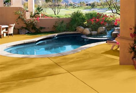 Best Paint For Concrete Around Pool