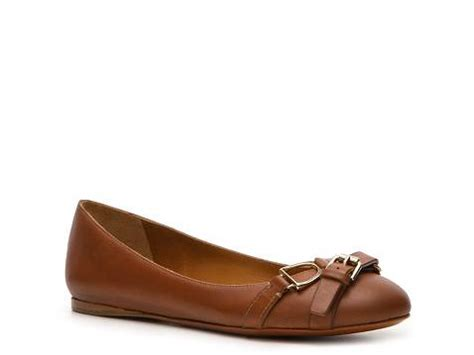 Boat Shop Umina by Ralph Collection Umina Leather Buckle Flat Dsw
