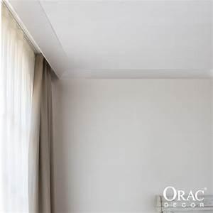 Corniche Plafond Platre : corniche moulure de plafond cache rideau axxent orac decor ~ Edinachiropracticcenter.com Idées de Décoration