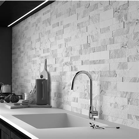 gioia bianco porcelain feature wall tiles western