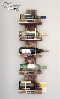 building a wine rack Wine Rack - DIY - Shanty 2 Chic