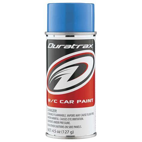 Duratrax Polycarb Spray Light Blue 45oz Towerhobbiescom