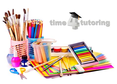 arts and crafts supplies the real supply list for homeschoolers time 4 tutoring 3386