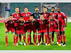 Maroc Les Lions A' contre la Jordanie en amical en octobre