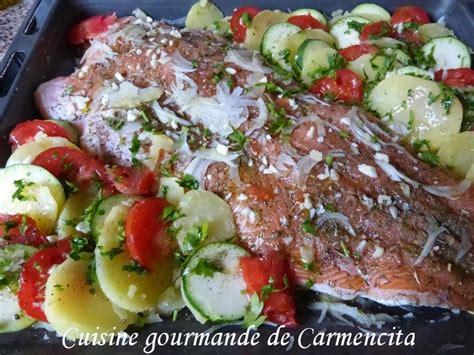 cuisiner filet de saumon recette filet de saumon au four 750g