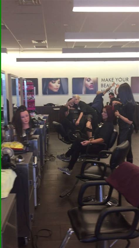 avalon school  cosmetology mannequin challenge