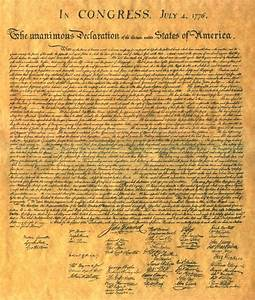 The Beautifully Written Declaration of Independence ...