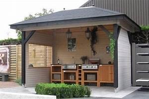 Grill überdachung Holz : gartenh user maag holz und bau ~ Buech-reservation.com Haus und Dekorationen