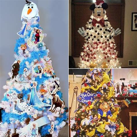 disney christmas tree ideas popsugar moms
