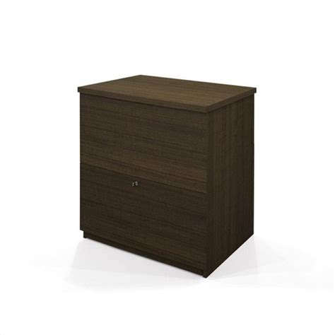 Lateral File Cabinet Drawer Dividers by Bestar 2 Drawer Lateral File Storage Cabinet In Tuxedo