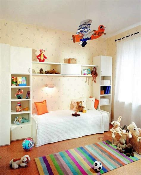 Cozy Kids Bedroom Interior Decorating Ideas With Wallpaper