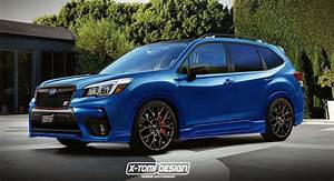 Side Scoops By Air Design 2019 Subaru Forester Sti Rendering Has Us Our Lips