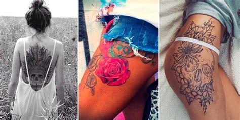 le tatouage tete de mort en  inspirations canons