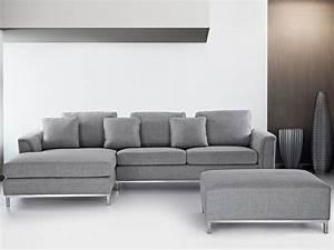 Graue Couch Wohnzimmer : moderne ledercouch grau ~ Michelbontemps.com Haus und Dekorationen