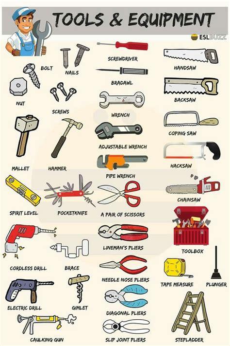 basic carpentry tools   american english vocabulary