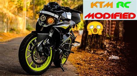 Ktm Rc 200 Modification by Unseen Ktm Rc 200 390 Modified Ktm Rc 390 200