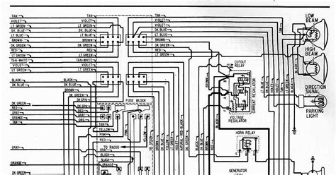 Chevrolet Electrical Diagram by Electrical Wiring Diagram Of 1962 Chevrolet 6 All About