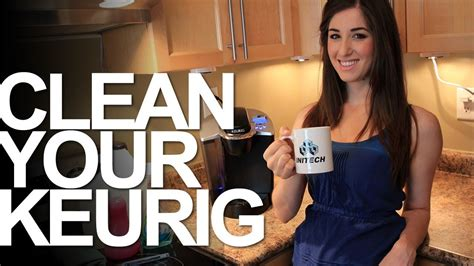 Clean Your Keurig Coffee Maker Keurig Cleaning Cleaning Appliances Clean My Space
