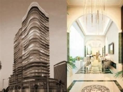Damac Tower With Interiors By Versace Home, Beirut