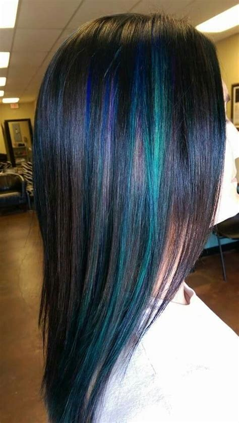 1000 Ideas About Peacock Hair Color On Pinterest