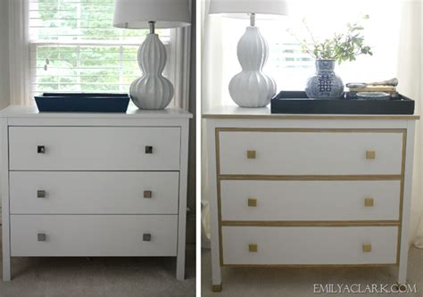 Ikea Nightstand Makeover by Our White Gold Ikea Nightstand Makeover Emily A Clark