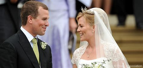 wedding  peter phillips royalty magazine