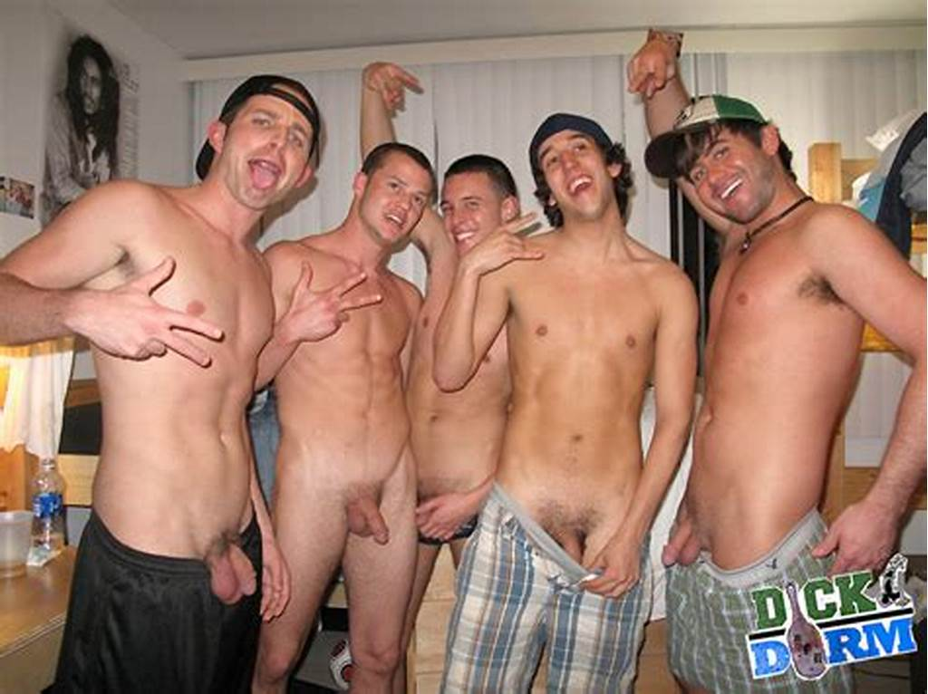 #College #Guys #Naked #Together