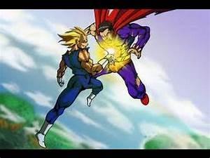 Superman vs. Vegeta - YouTube
