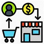 Sell Trade Market Exchange Commerce Icon Money