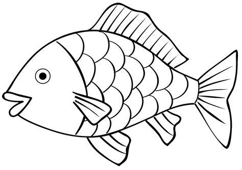 gambar mewarnai gambar ikan untuk anak
