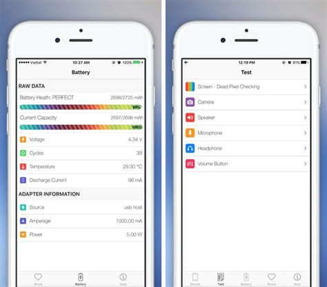 check for on iphone how to check iphone battery health using these great free apps