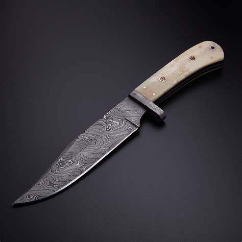 kitchen knives made in the usa small bowie knife 12 quot bone handle knives ranch