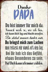 Danke Papa Text : danke papa du bist immer f r mich da su e blec real ~ Watch28wear.com Haus und Dekorationen