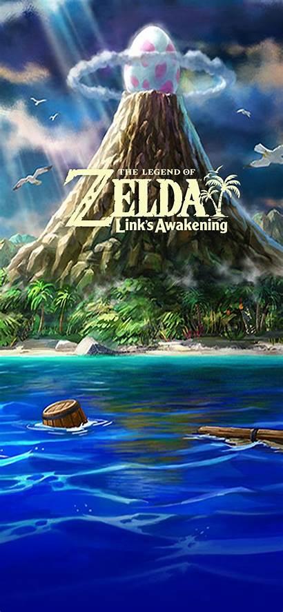 Awakening Iphone Zelda Legend Link Wallpapers Mobile