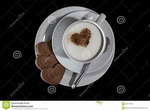 Love Coffee stock image. Image of fresh, coffee, heart ...